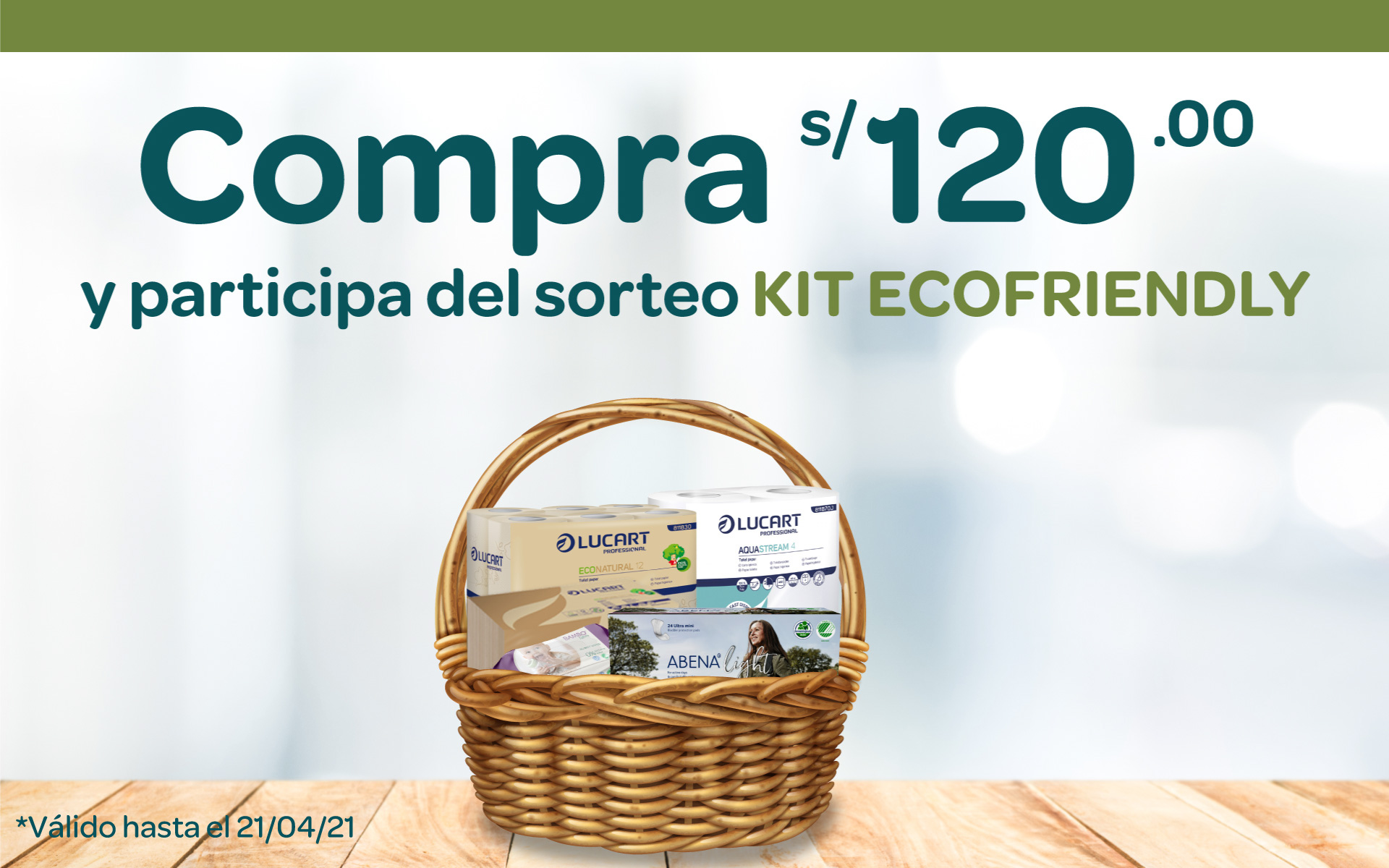 Sorteo Kit ECOFRIENDLY
